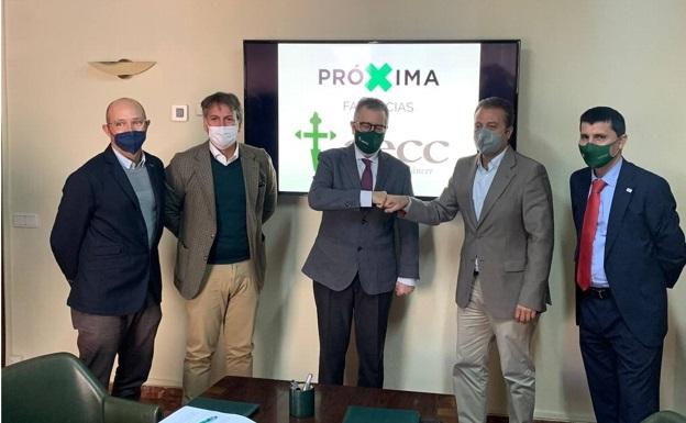 Acuerdo entre Proxima Farmacias y AECC Malaga