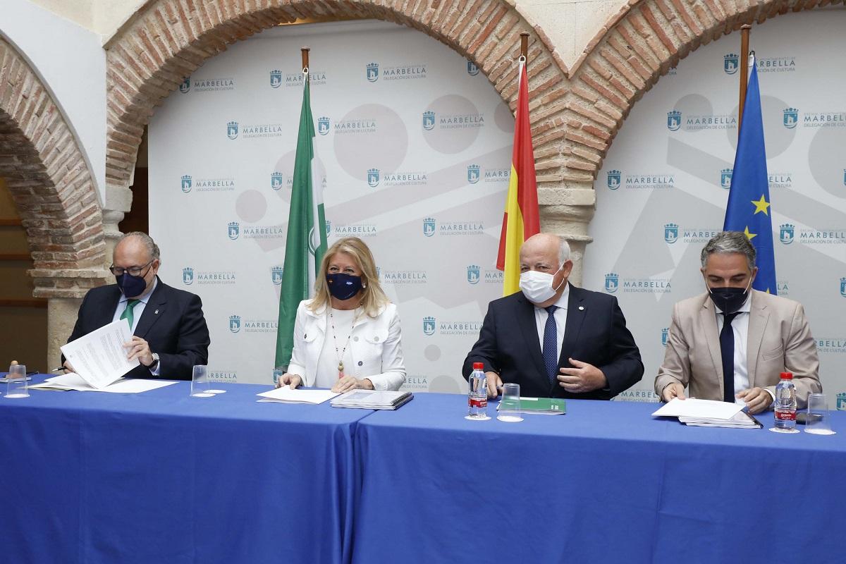 Ayuntamiento y Junta firman acuerdo para mejorar la Sanidad en Marbella