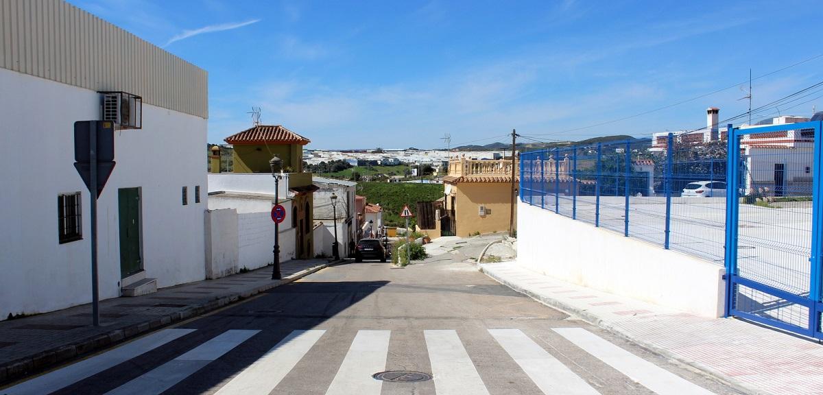 Estepona ensancha la Calle Juan Benitez