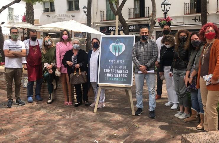 Plataforma de Comerciantes y Hosteleros de Marbella se constituye con fuerza