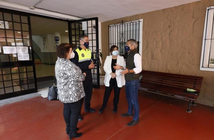 La Policia Local de Marbella realiza campaña sobre prevención Covid