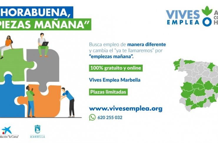 Empieza la segunda edición del programa VIVES EMPLEA MARBELLA