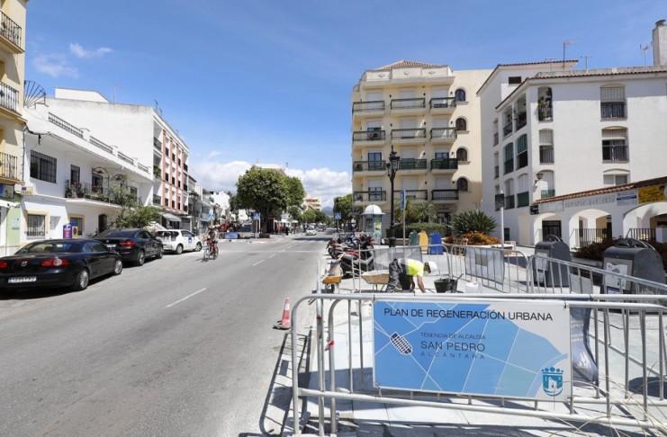 Obras Marbella y San Pedro