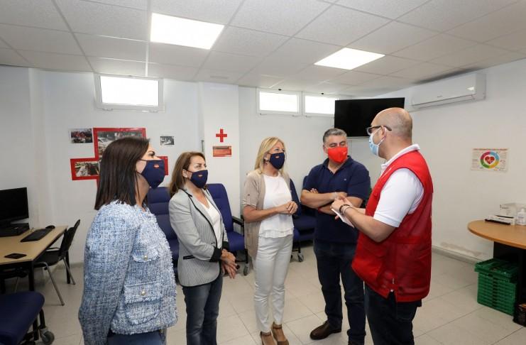 Personas sin Hogar Cruz Roja Marbella