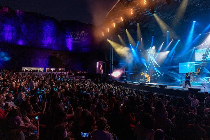 Camilo realizó tres increíbles espectáculos en Marbella.