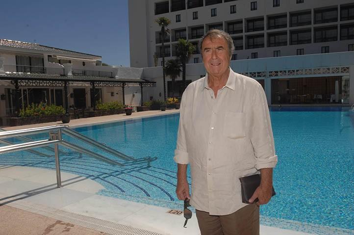 Judas Azuelos, empresario marroquí, en el Hotel Los Monteros.