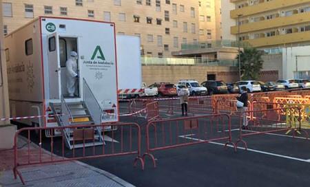 El pasado mes de enero, la unidad móvil de cribados estuvo en Marbella.