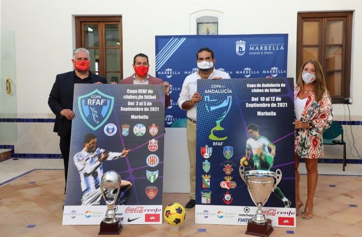 La Real Federación Andaluza celebrará la fase final de dos competiciones de fútbol senior en Marbella.