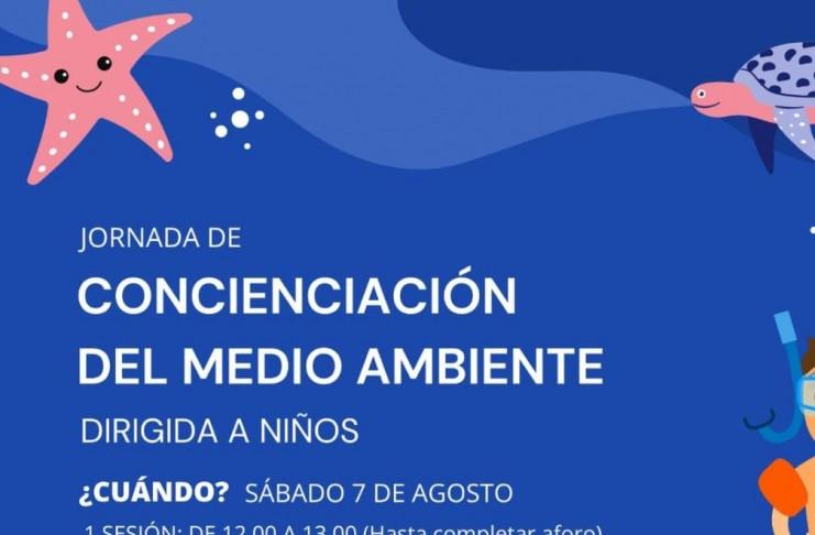 Este sábado se llevará a cabo una jornada de concienciación entre los niños sobre el cuidado y el respeto a los mares y océanos en la playa del Real de Zaragoza-Pinomar.
