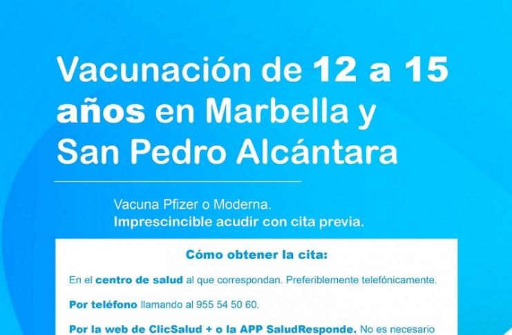 Vacunacion Marbella San Pedro