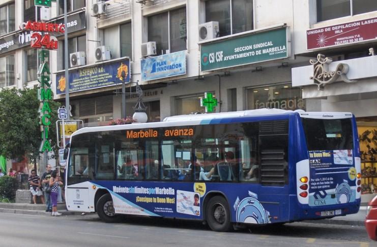 Transporte Marbella